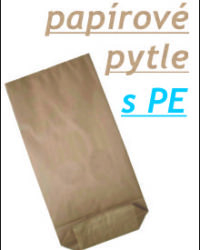 Papírové pytle s PE