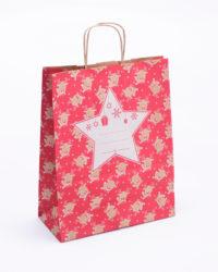 vánoční papírové tašky 25x32x11