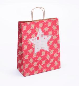 vánoční taška 25x32x11