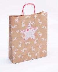 vánoční papírová taška-32x40x12